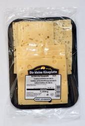 Sächsische Käseplatte Aufschnitt